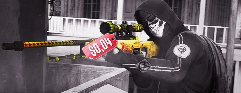 Cheapest AWP | Dragon Lore sold for $0 04 in the Steam