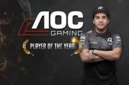 AOC Gaming Player of the yeary